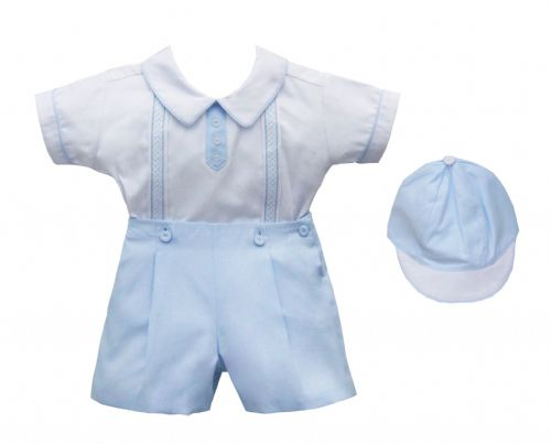 Pretty Originals Boys Shorts Set With Hat
